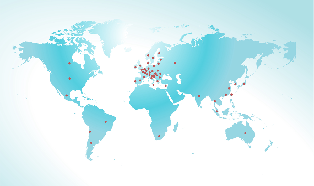 VELOCITY GLOBAL COVERAGE MAP