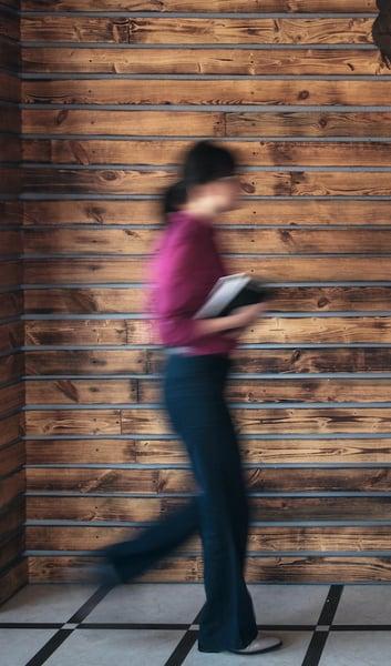 blurred-businesswoman