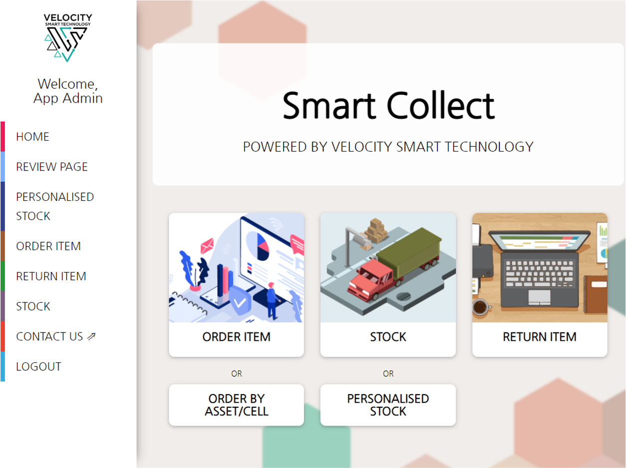 Smart Collect Portal
